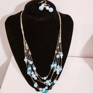 Charming Charlie's matching necklace and earrings